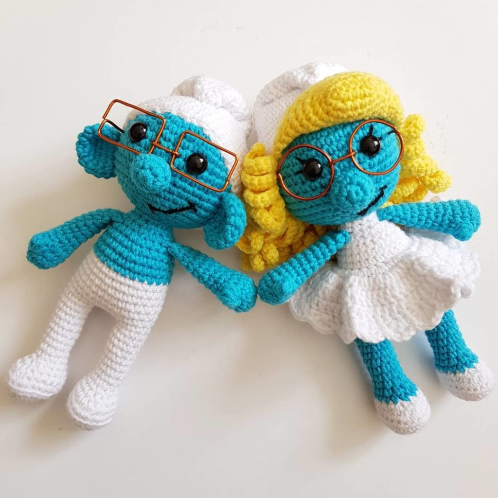 Amigurumi Smurfs Free Crohcet Pattern - Everything about life